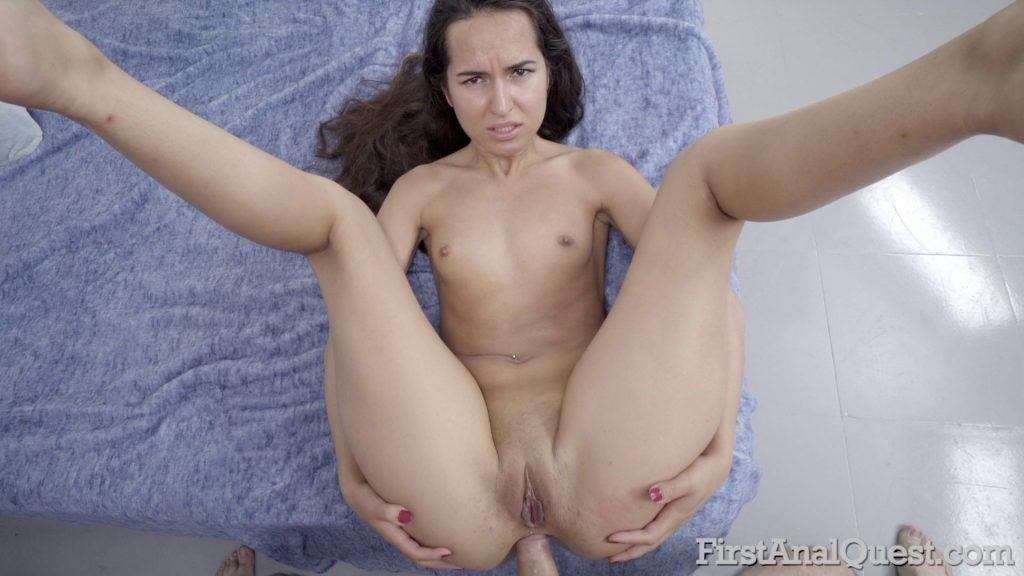 [FirstAnalQuest.com] Monica Brown (21.06.2018) Anal, NewBie, Blowjob, Shaved Pussy, Teen, Russian, Painful Anal, Facial, AssFuck, Cum on Face, HD, 1080p
