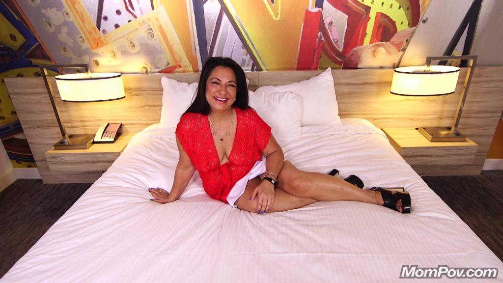 [MomPov.com] Sanaz - Thick busty dark skin amateur MILF - 2018, Anal, Big Tits, Casting, Chubby, Blowjob,  Interview, Posing, POV, MILF, HD, 720p