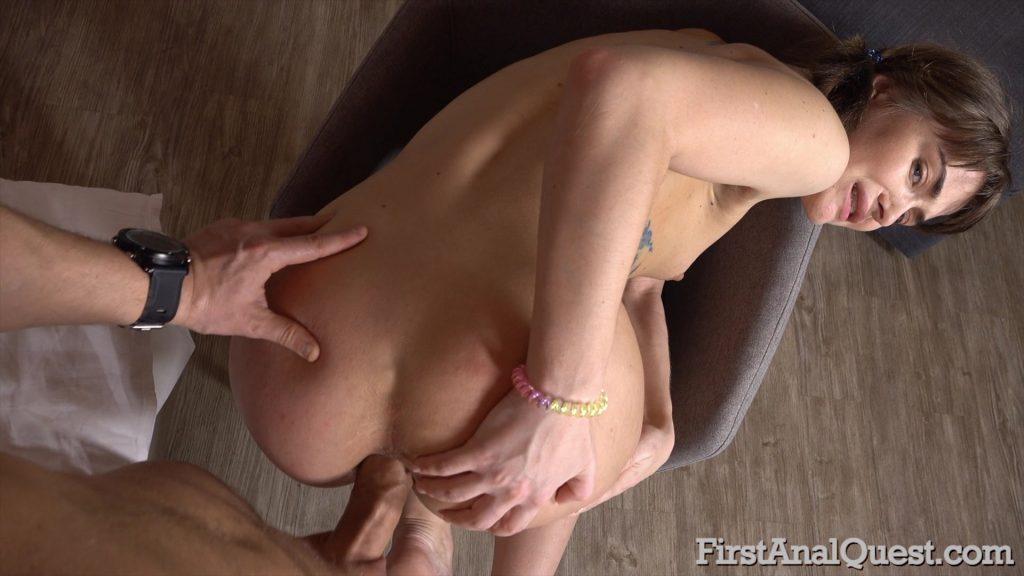 [FirstAnalQuest.com] Beau Rose aka Bena Rose - 546 - Young Gets Her First Anal Fuck! (08.05.2019) Anal, Porn Newbie, Blowjob, Brunette, Ass Gape, MP4, Hardcore, Russian, Small Tits, Teen, Anal Creampie, HD, 1080p